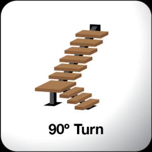 90 Degree Turn