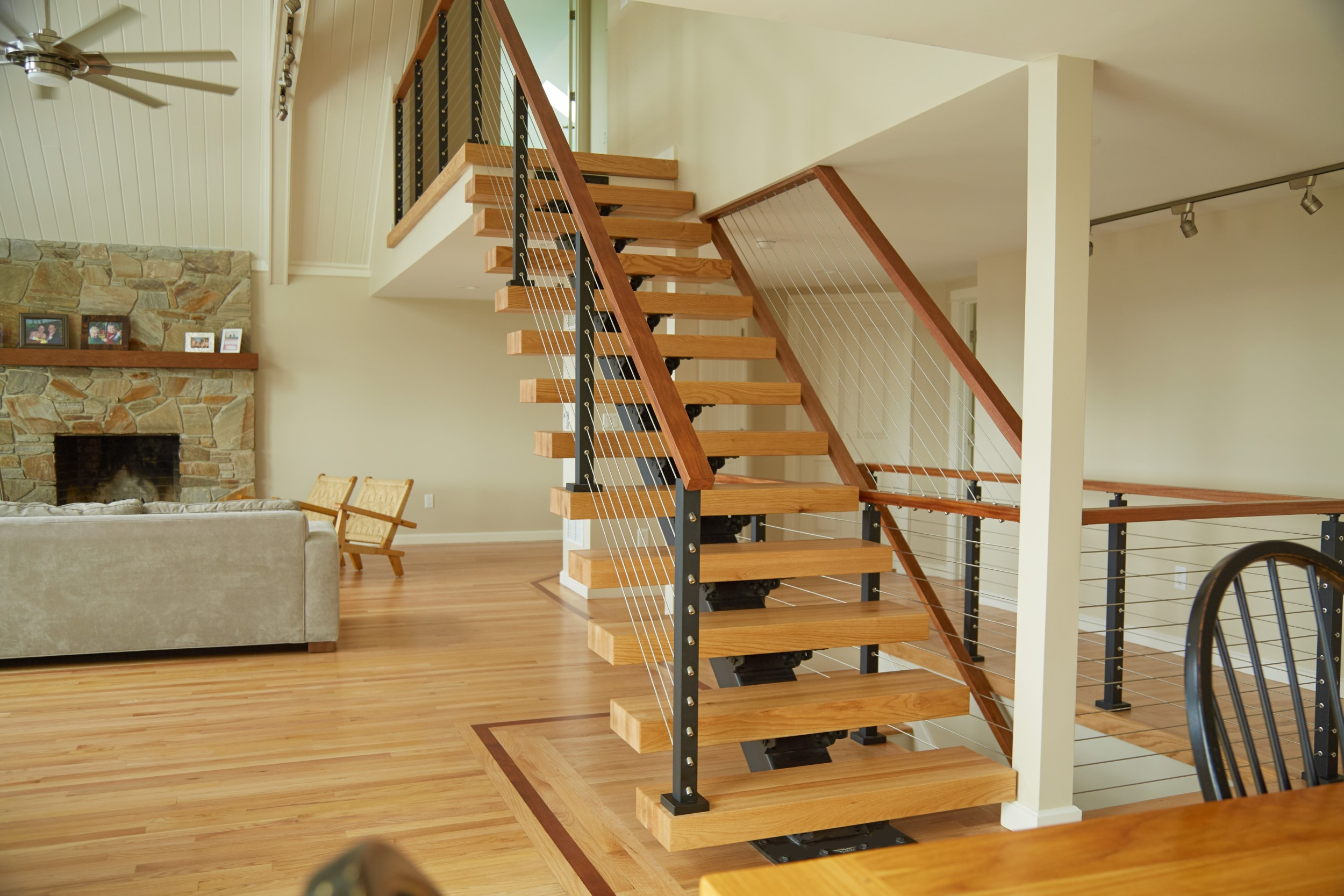 Floating Stairs For Remodeling
