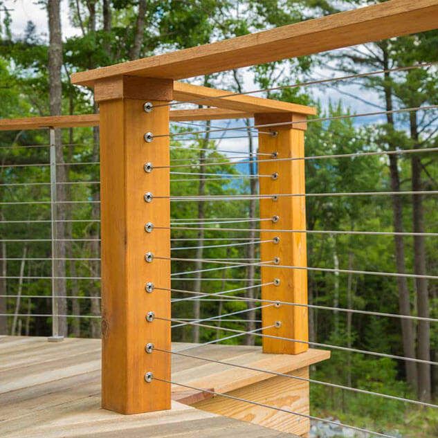 Hidden Fasteners For Cable Railing