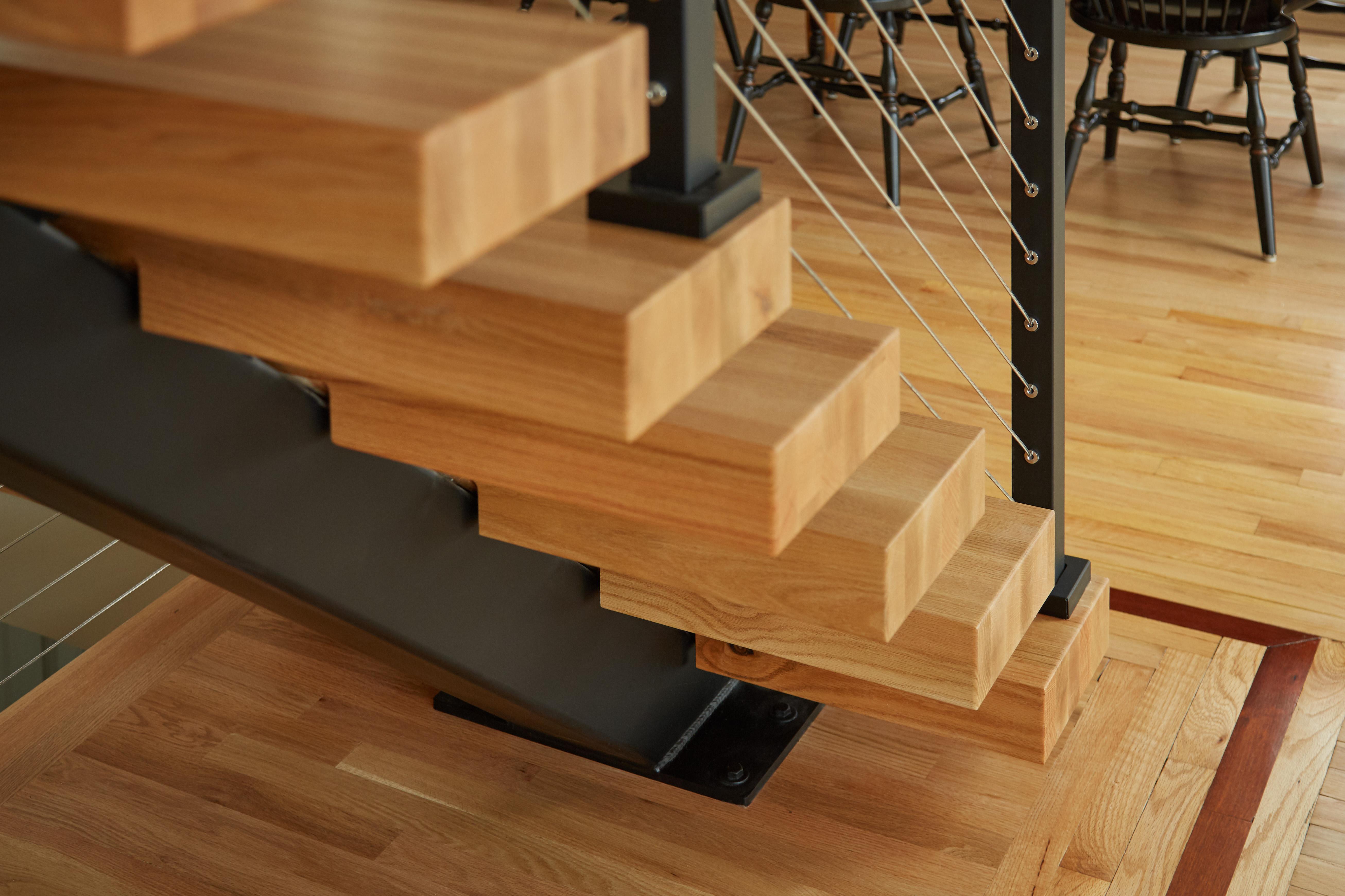 Modern Home Stair Centerpiece