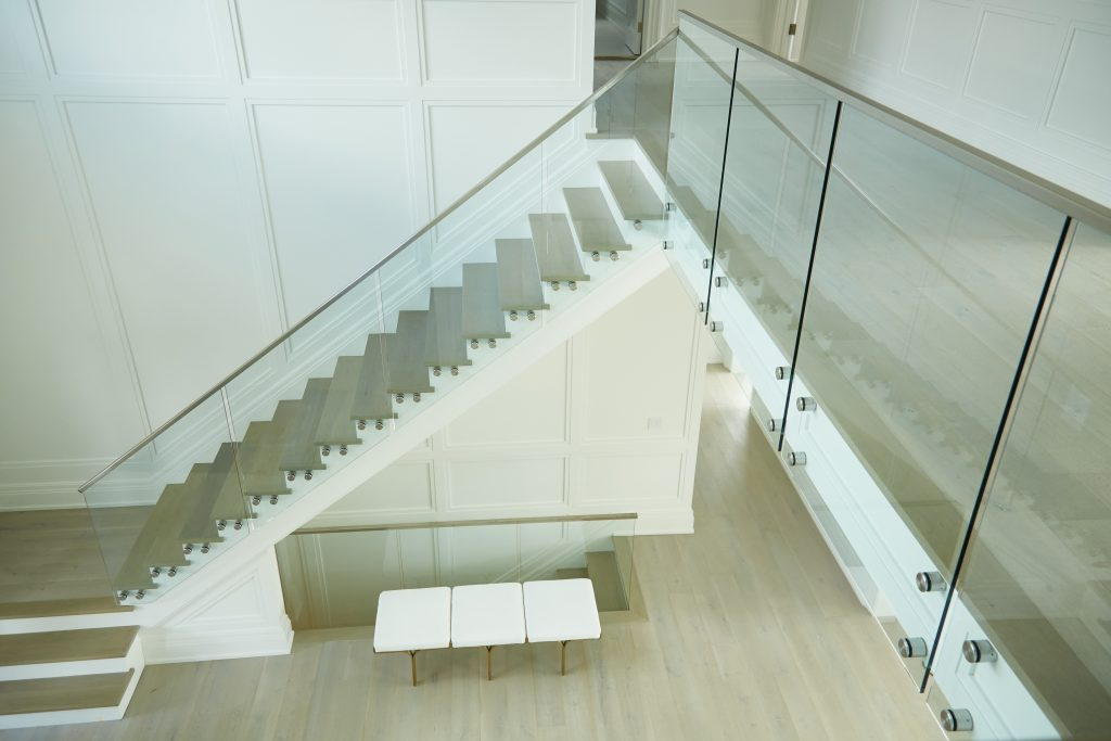 Floating Stairs Railing