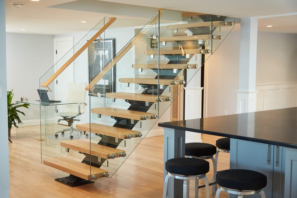How You Can Build Floating Stairs Viewrail
