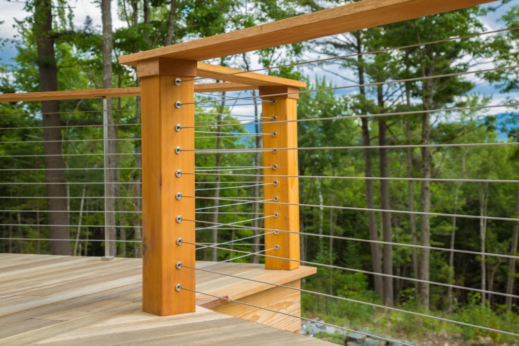DriveTite Cable Railing System   Cable Kits For Wood Posts ...