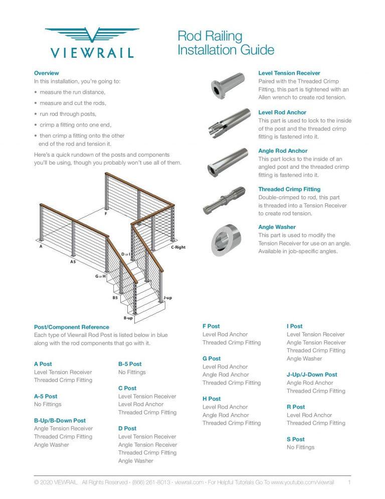 Rod Railing Install