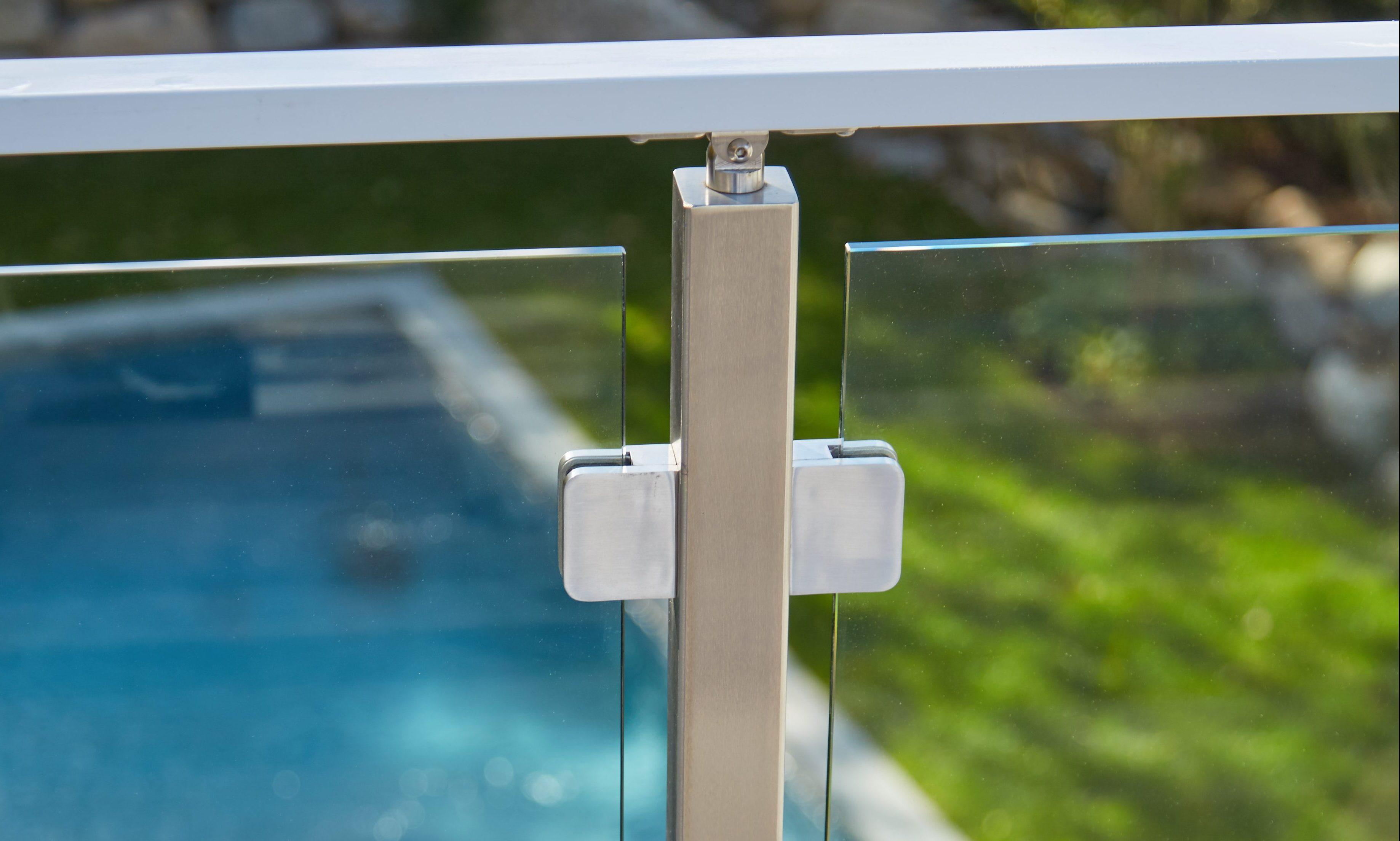 plexiglass balcony railings Glass Railing Glass Railing For Stairs Decks Balconies