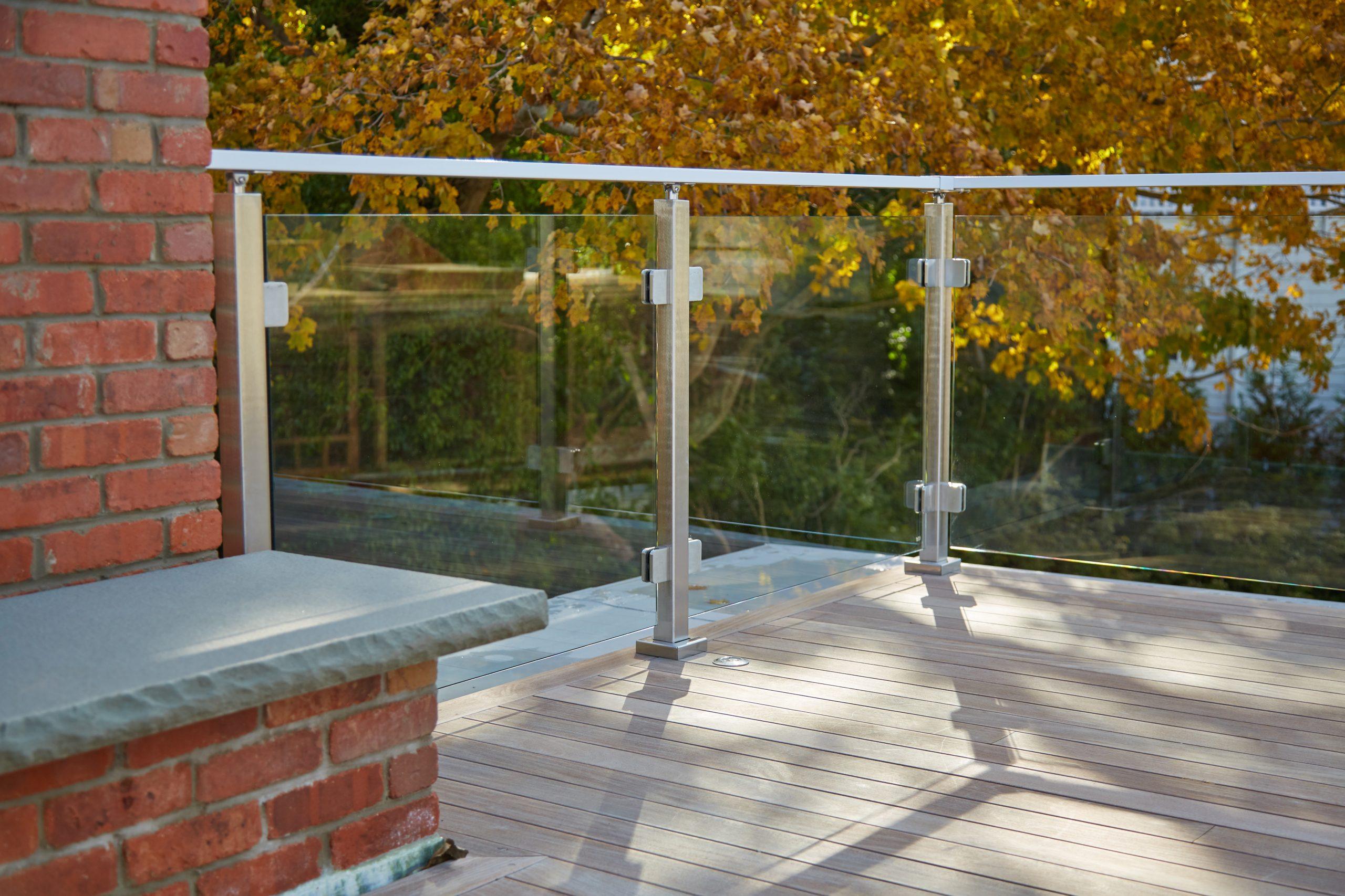 Glass Railing Post System Glass Balcony Stair Deck Railing Viewrail