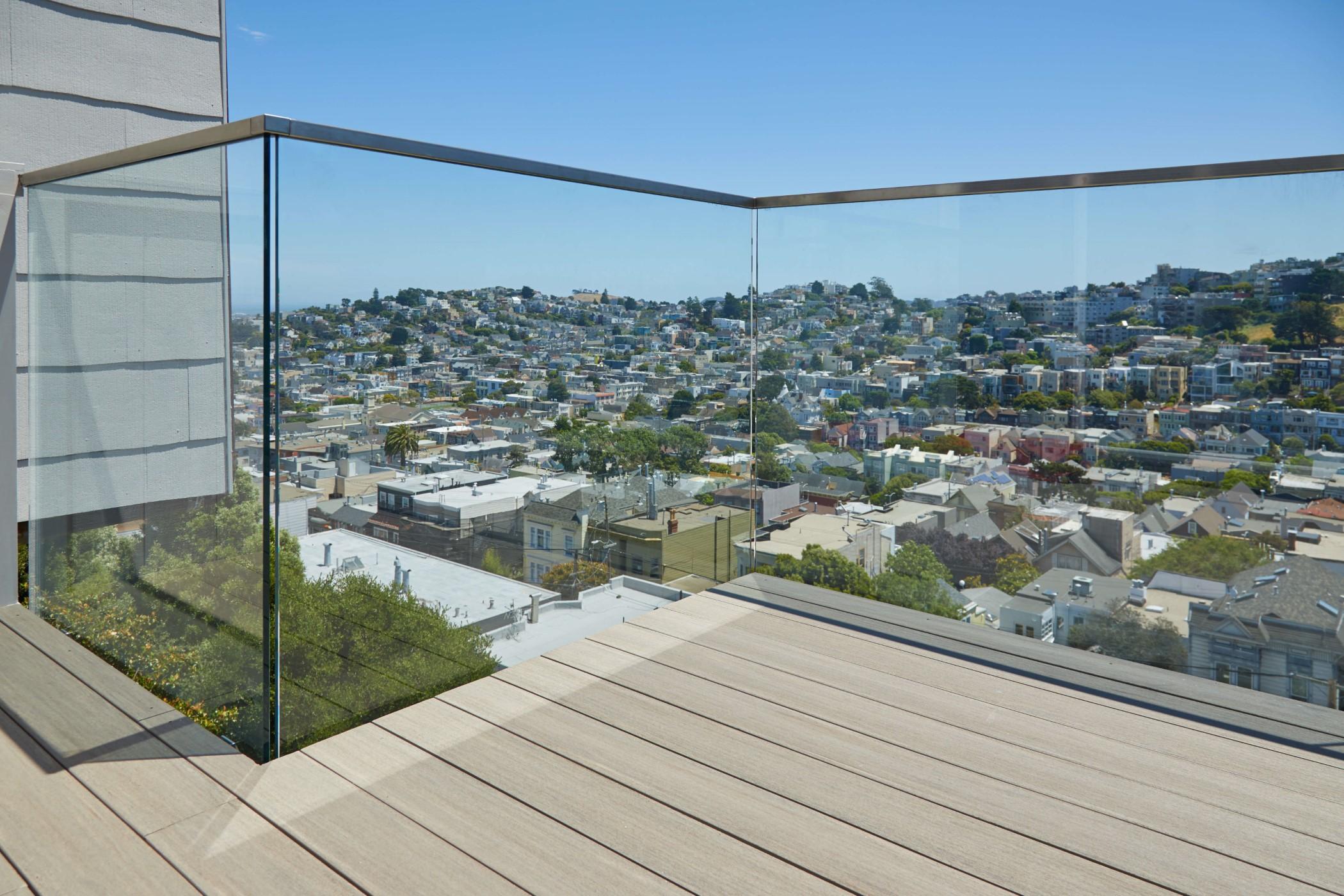 Glass Railing Glass Railing For Stairs Decks Balconies