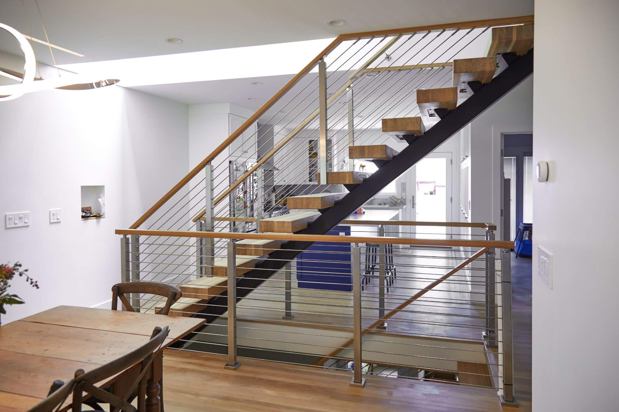 Rod Railing For A Contemporary Home Viewrail