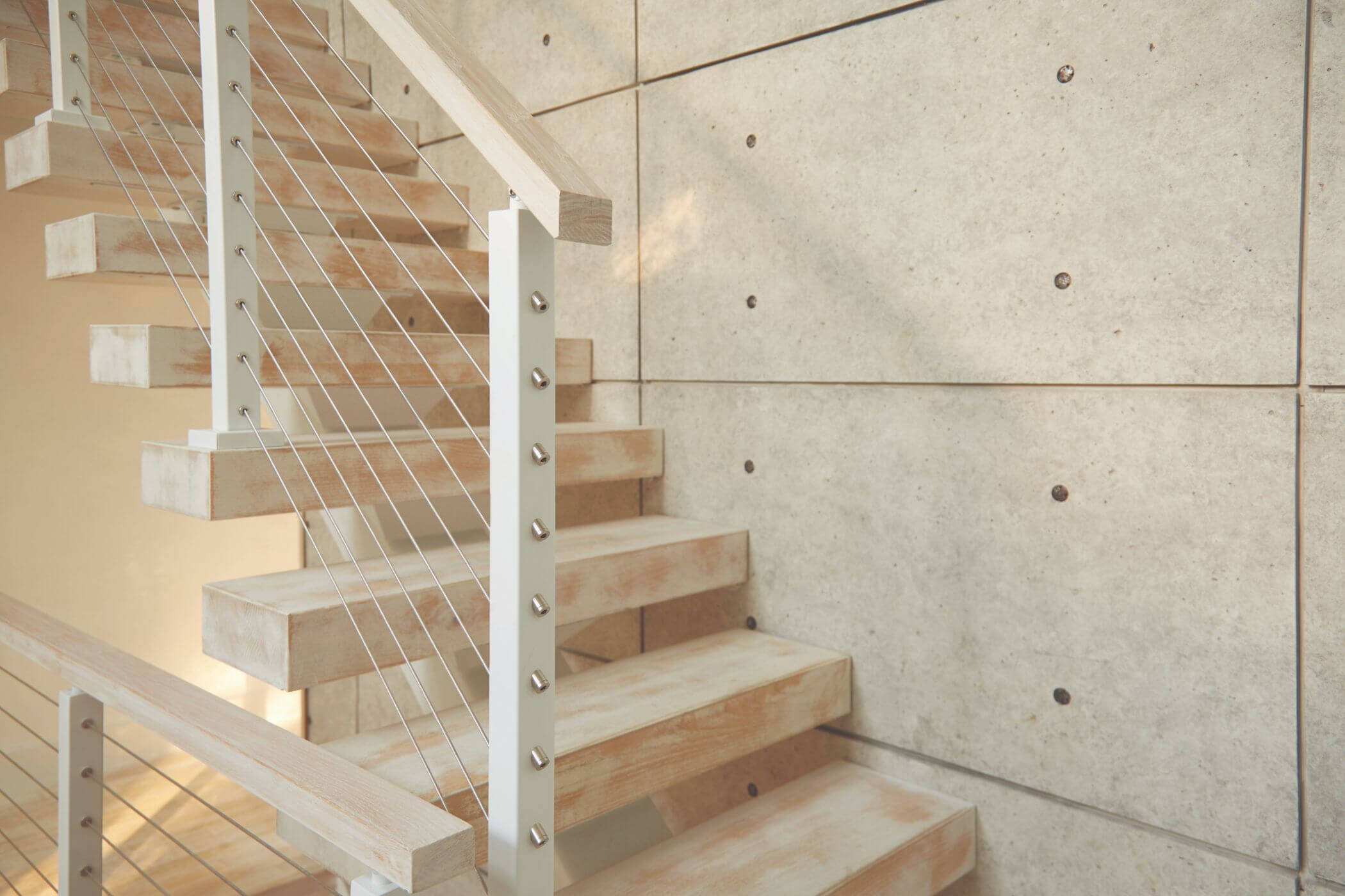 Floating Stairs For A Long Island Home Viewrail