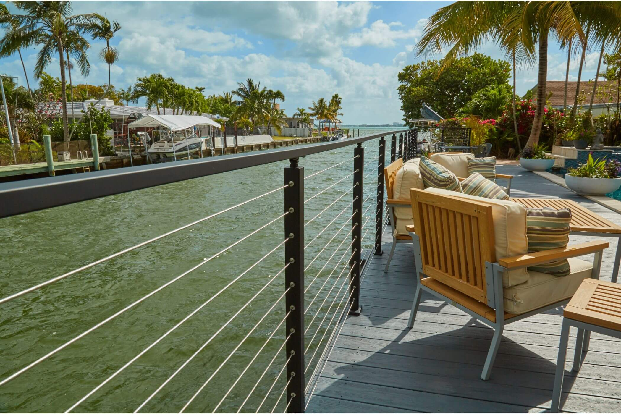Image of: Cable Railing Systems Railing For Decks Stairs Viewrail
