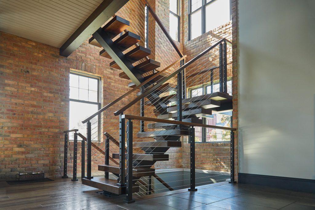 Switchback Stair Stringer U Shaped Mono Stringer Viewrail