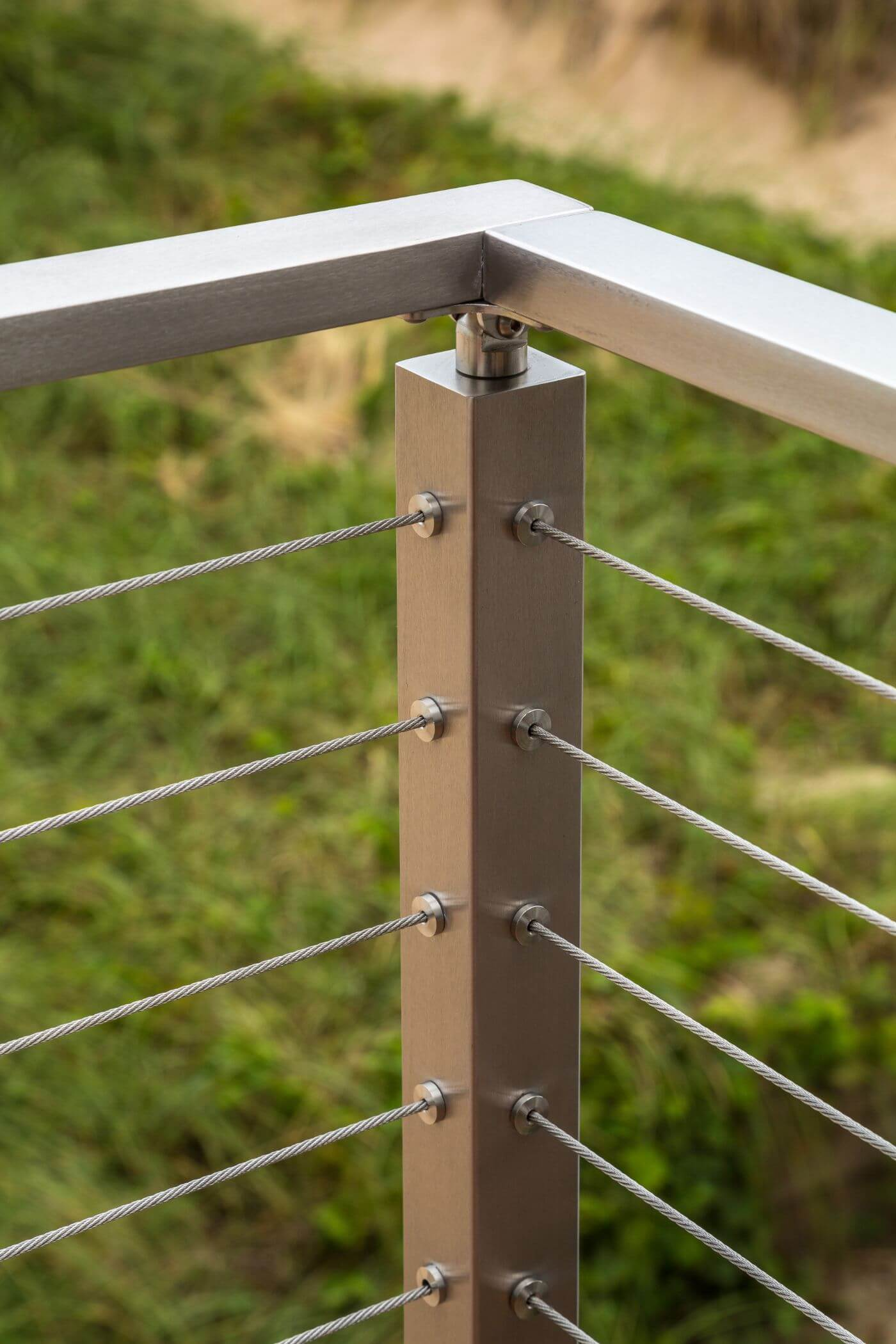 Waterfront Stainless Steel Cable Railing Viewrail