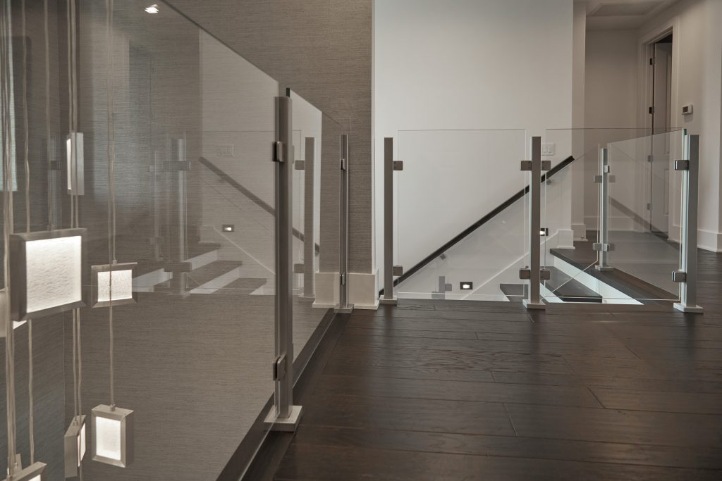 Barrier Glass Railing