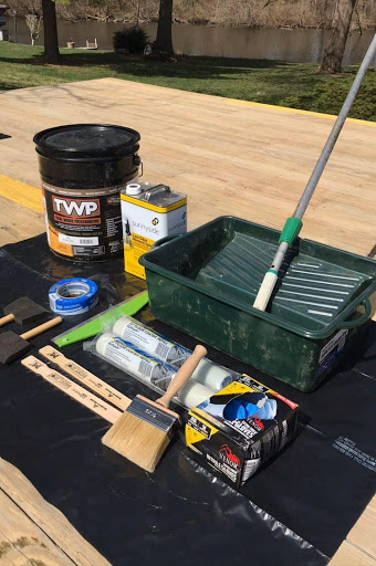 Decking Stain and Supplies