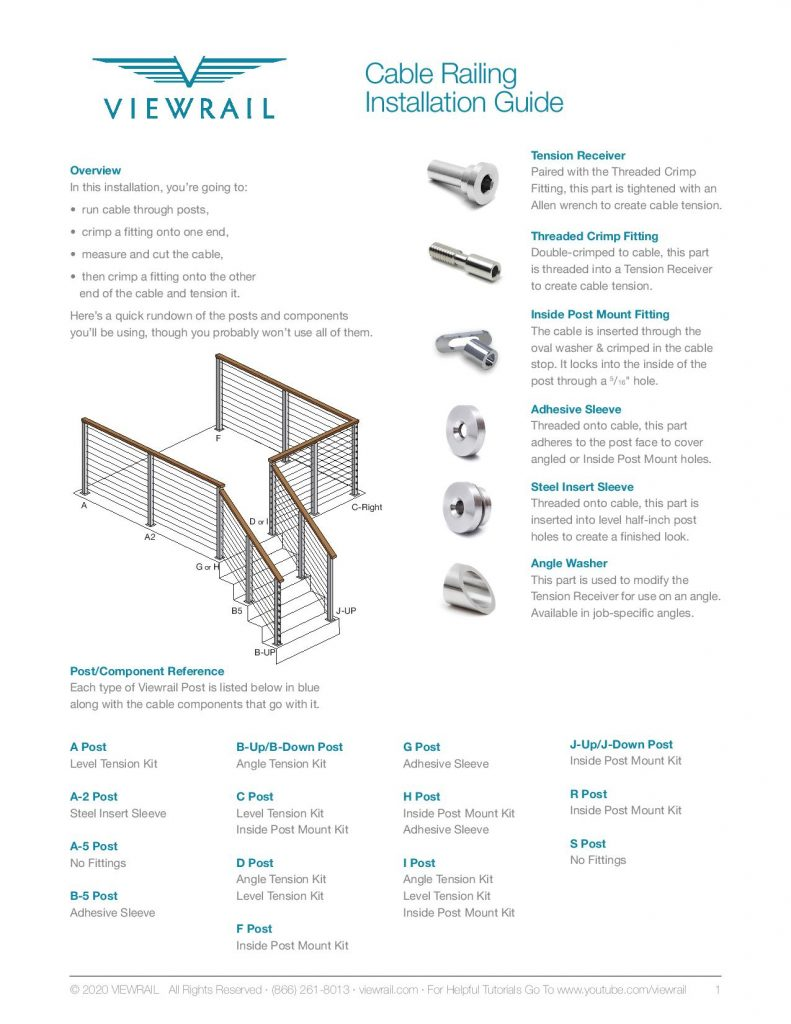 Cable Railing Installation Instructions V5-page-001