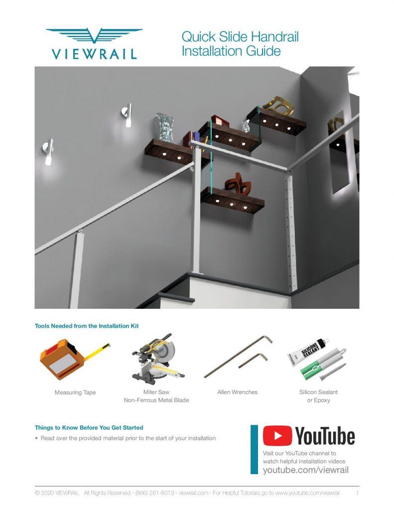 Quick Slide Handrail Install